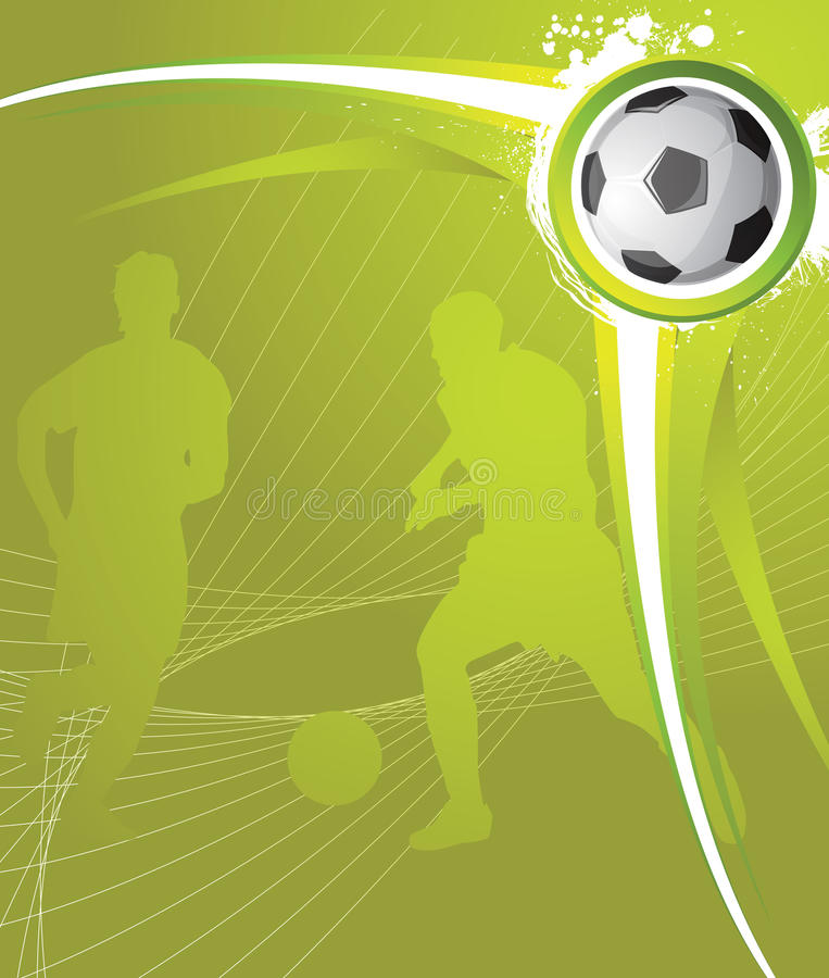 tło piłka nożna ilustracja wektor
