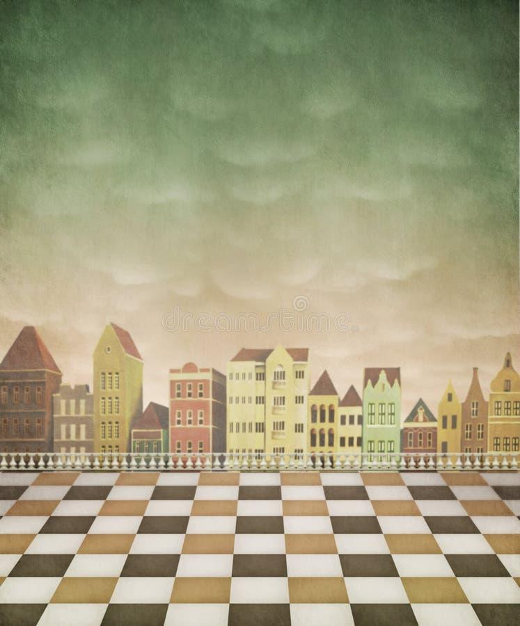 tło plakat karciany ilustracyjny ilustracja wektor