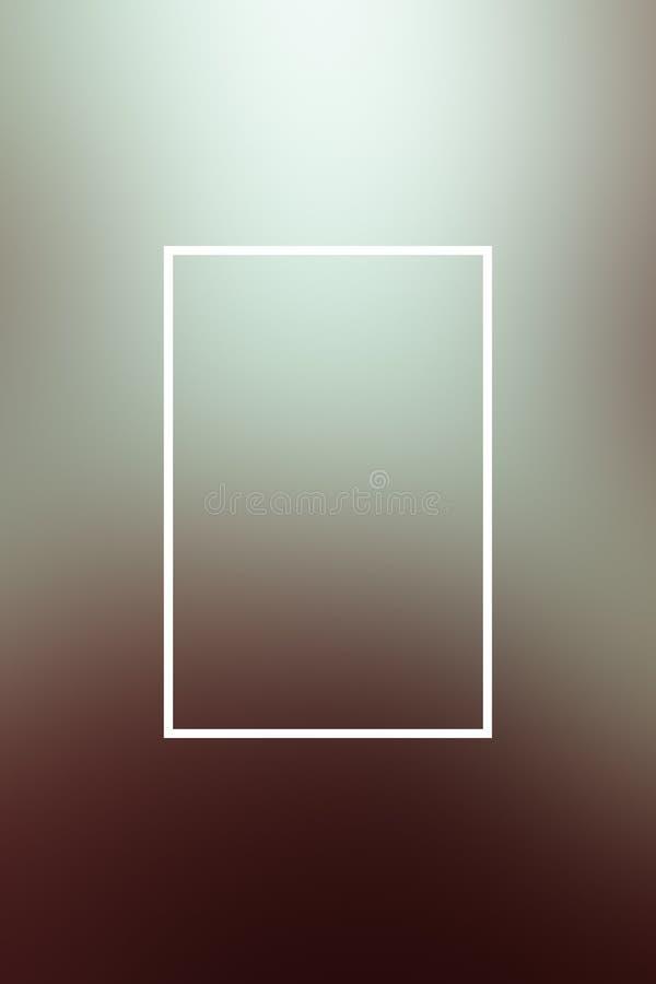 Tło plamy gradientu ramy abstrakt, tło ilustracja wektor