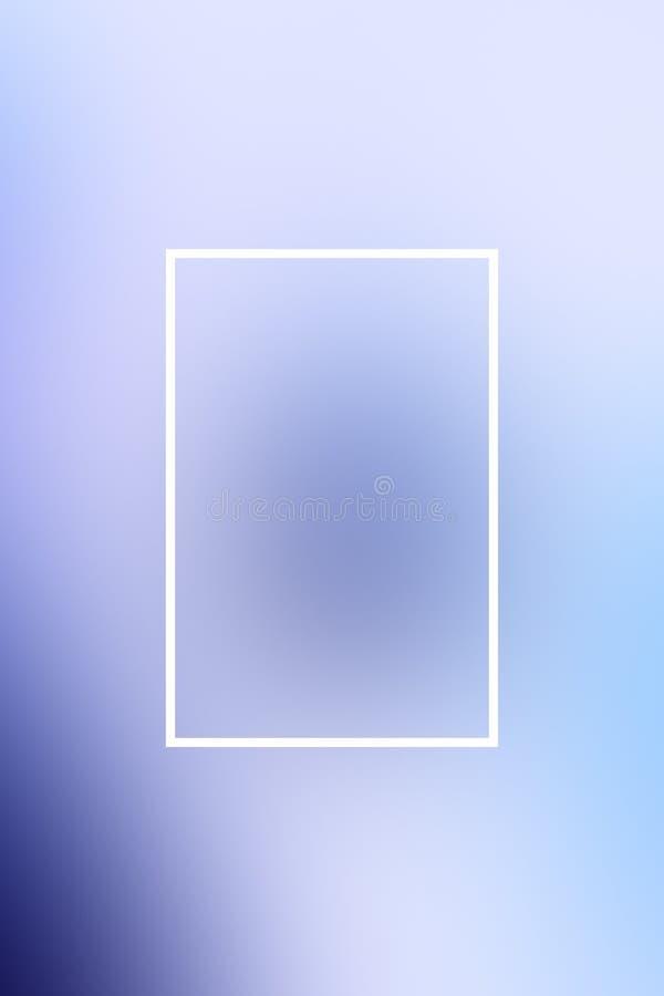 Tło plamy gradientu ramy abstrakt, kopii astronautyczna prezentacja royalty ilustracja