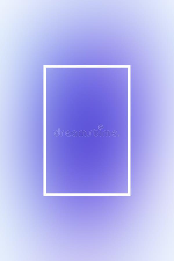 Tło plamy gradientu ramy abstrakt, kopii przestrzeń ilustracja wektor
