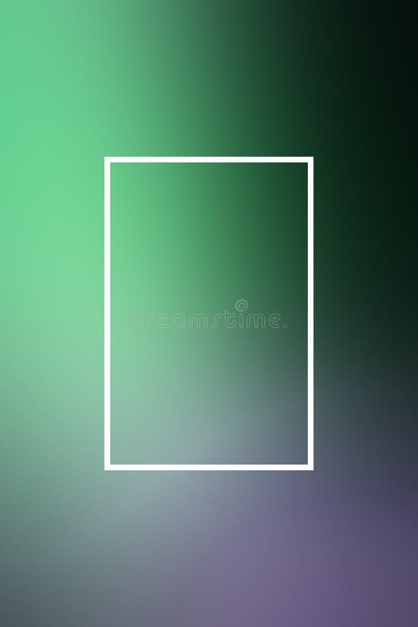 Tło plamy gradientu ramy abstrakt, korporacyjny royalty ilustracja