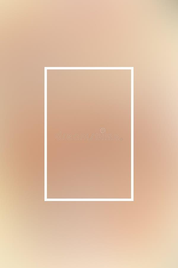 Tło plamy gradientu ramy abstrakt, miękka część royalty ilustracja