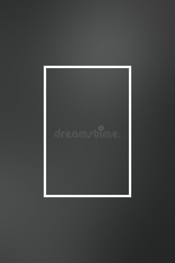 Tło plamy gradientu ramy abstrakt, szablon royalty ilustracja