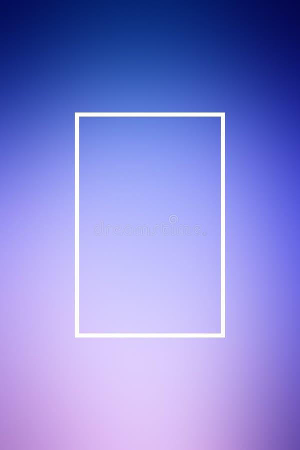 Tło plamy gradientu ramy abstrakt, szablon karta ilustracja wektor