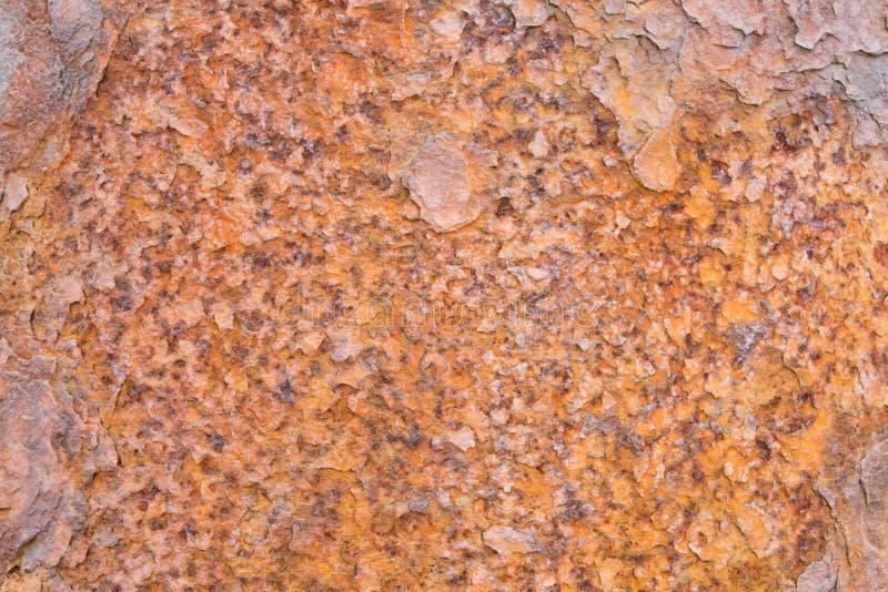 tło powyginany rusty metali obrazy stock