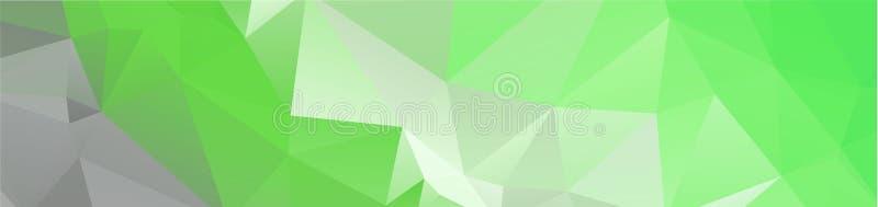 tło projekta Geometryczny tło w Origami stylowej i abstrakcjonistycznej mozaice z gradientowym pełnia kolorem prostokąt ilustracja wektor