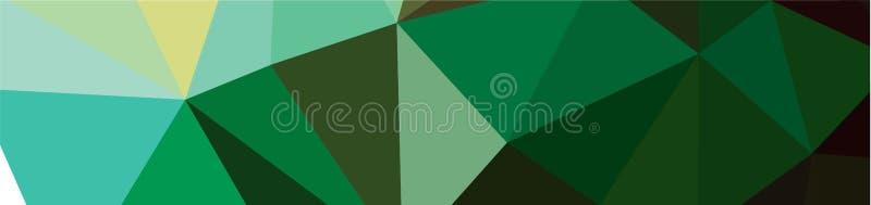 tło projekta Geometryczny tło w Origami stylowej i abstrakcjonistycznej mozaice z gradientowym pełnia kolorem prostokąt ilustracji