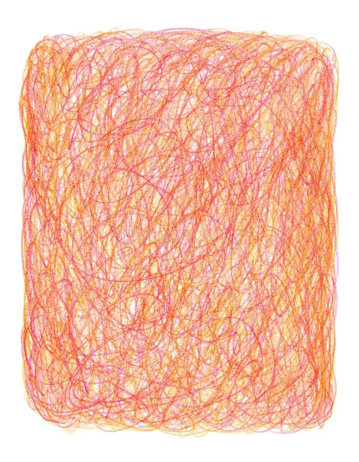 tło ręki kredka rysująca skrobanina ilustracji