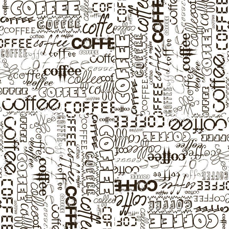 tło reklamowa kawa ilustracja wektor