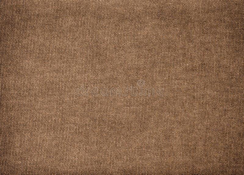 Tło robić brown bawełna fotografia stock