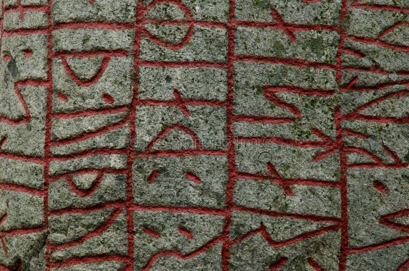 tło runes fotografia royalty free