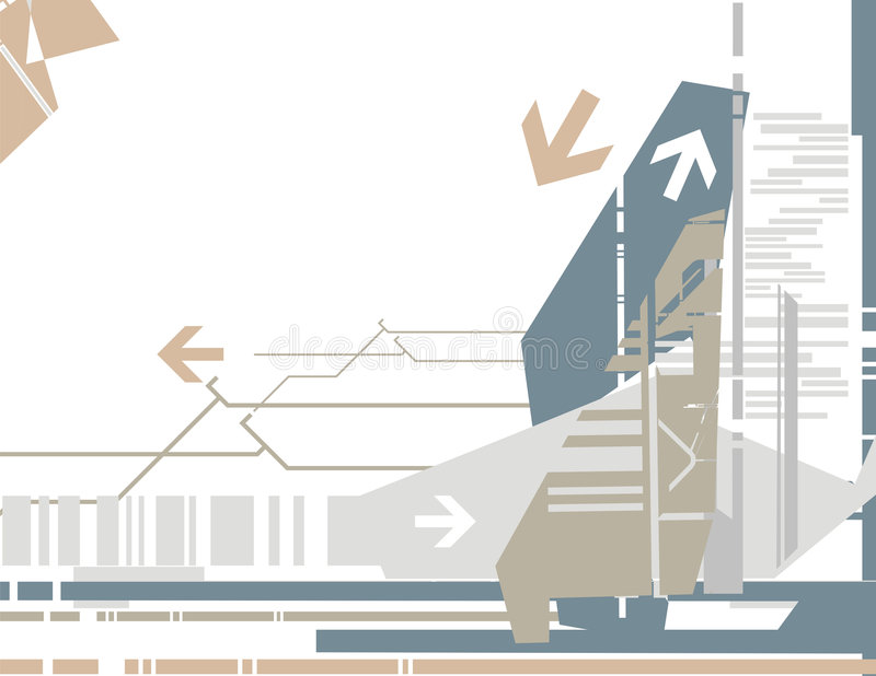 tło serii wysokiej technologii ilustracji