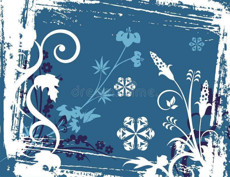 tło serii zima royalty ilustracja