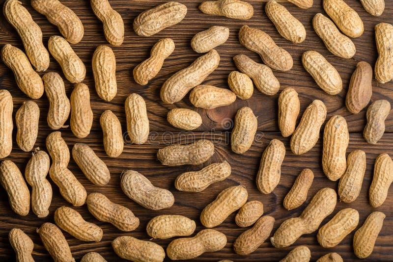 Tło spirali wzór okrążać arachidy obrazy stock