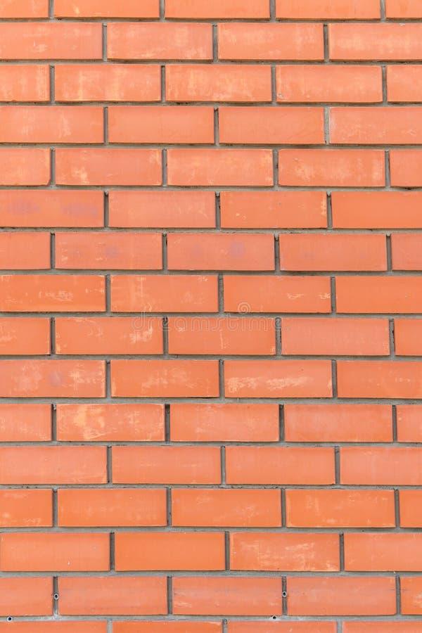Tło starannie brogować czerwone cegły obrazy stock