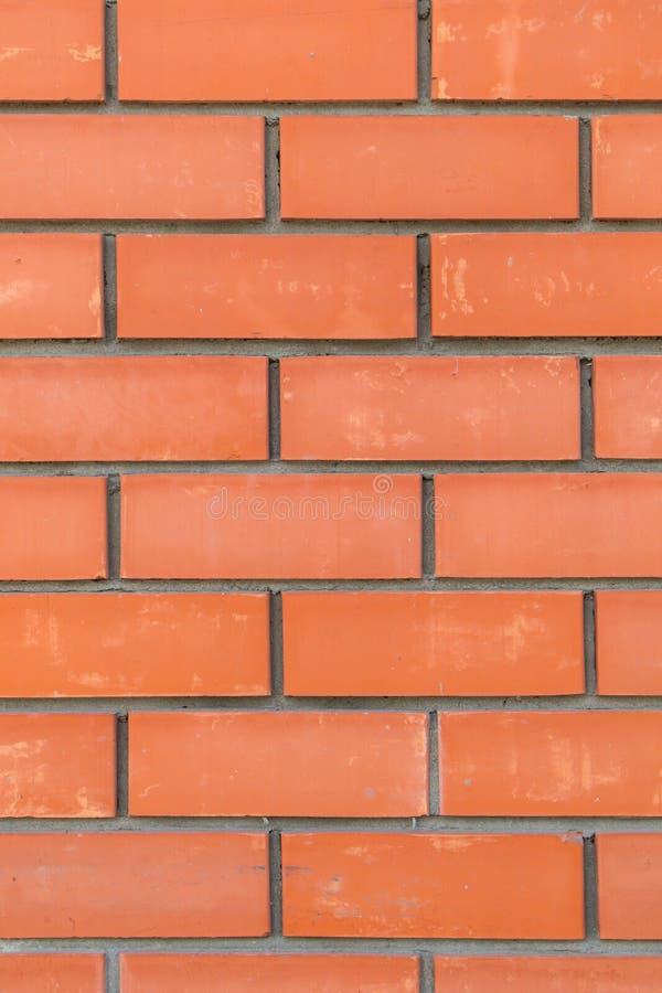 Tło starannie brogować czerwone cegły zdjęcia royalty free