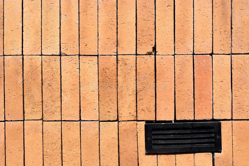 Tło stary ściana z cegieł w Tajlandia kurorcie zdjęcie royalty free