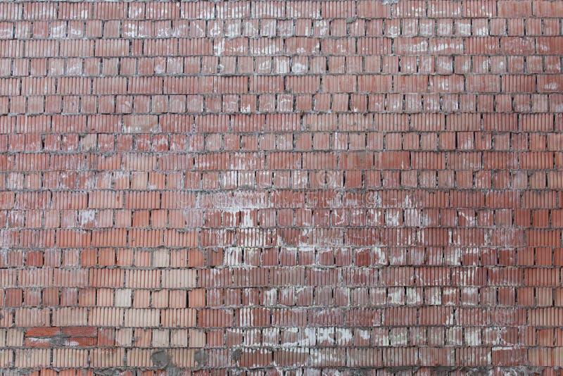 Tło stary rocznika ściana z cegieł zdjęcie stock