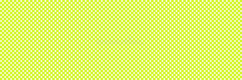 Tło sztandaru tekstura z kropkami - zieleń i biel royalty ilustracja