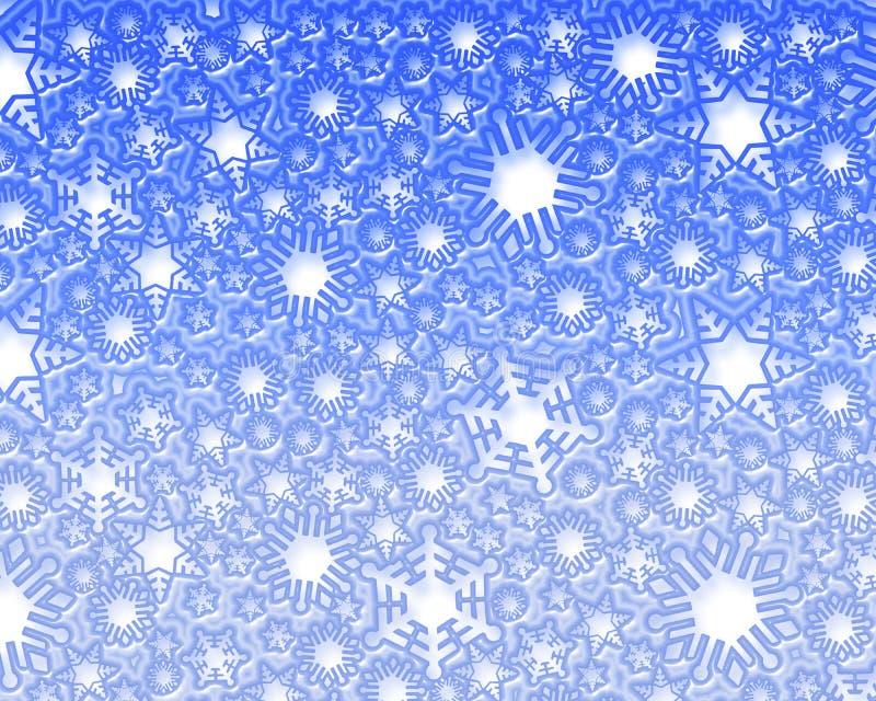tło sztuczny śnieg ilustracja wektor