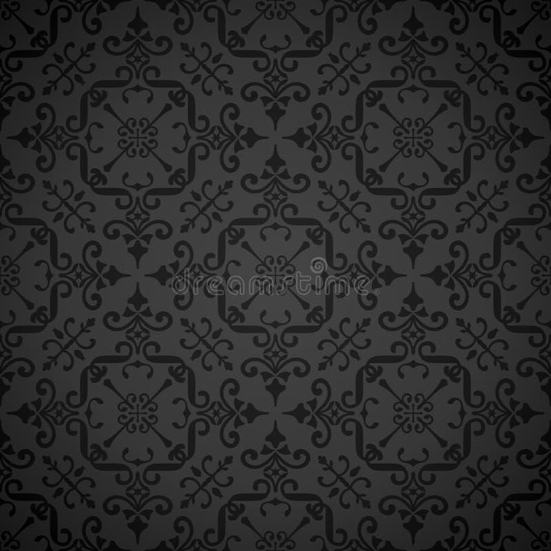 tło tapeta elegancka ozdobna bezszwowa ilustracja wektor