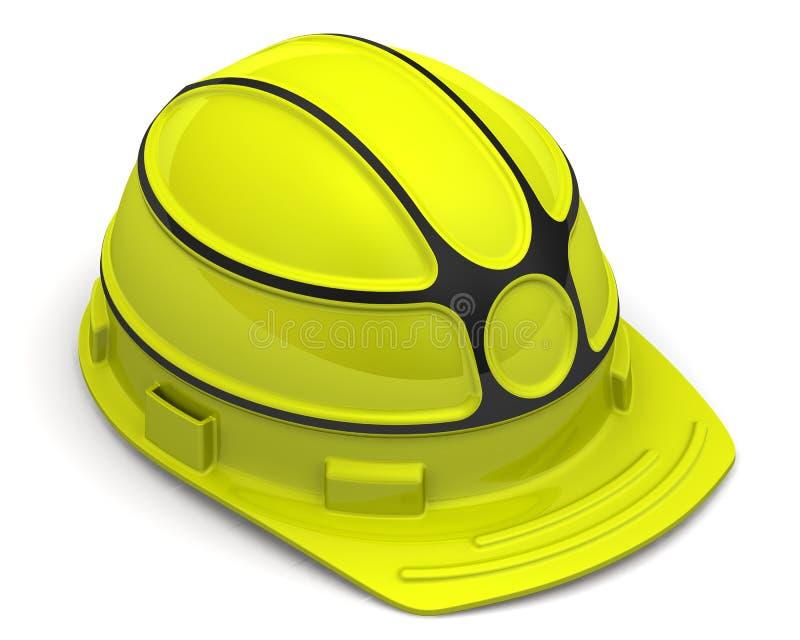 tło target2032_1_ ciężkiego kapeluszu odosobnionego ścieżki biel ilustracja wektor