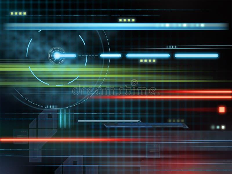 tło technologia ilustracja wektor