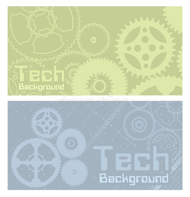 tło technologii wektor ilustracji