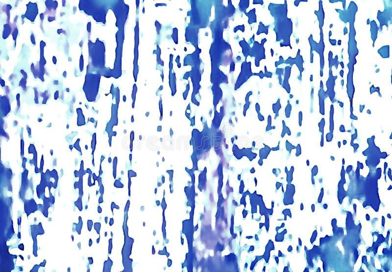 Tło tekstura ściana błękitny colour royalty ilustracja