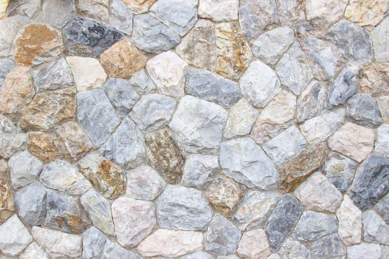 T?o tekstura ?redniowieczna naturalna kamienna ?ciana textured t?o fotografia stock