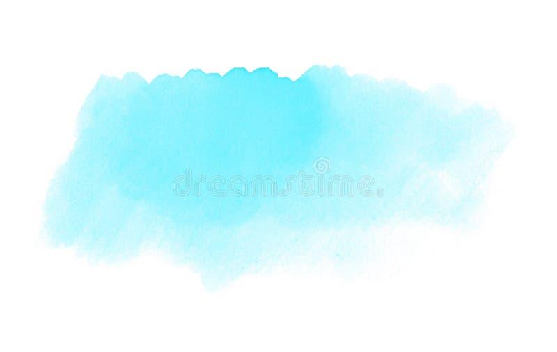 Tło tekstura: Bława akwarela ilustracji