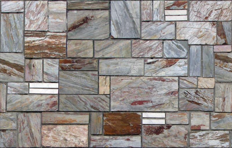 Tło tekstura kamień, ciągły wzór obraz stock