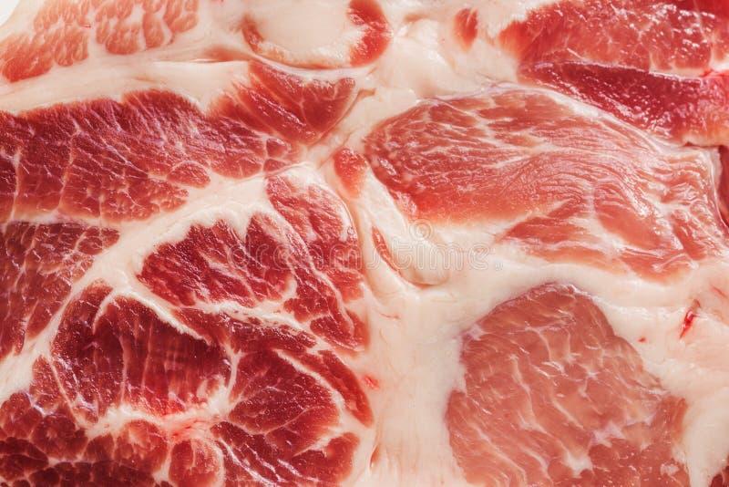 Tło tekstura marmurkowaty mięso zdjęcia stock