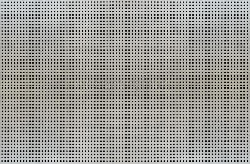 Tło tekstura metal siatki komórki odizolowywać na białym tle ilustracja wektor