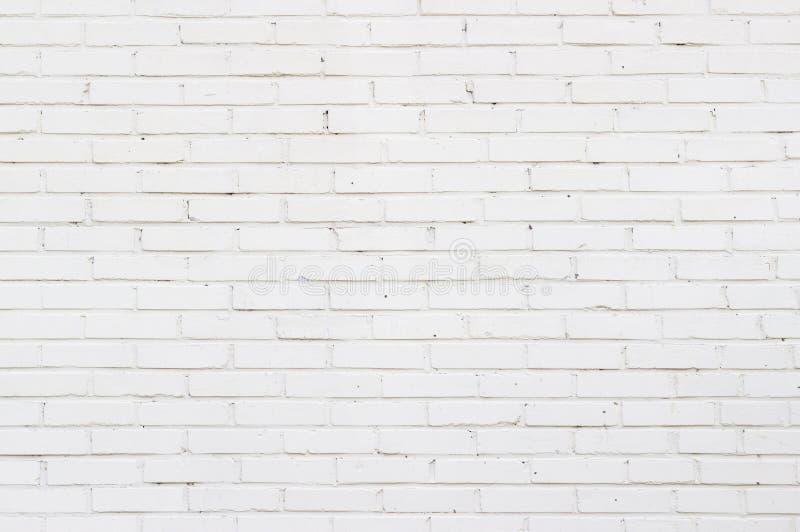 Tło tekstura stary biały ściana z cegieł zdjęcie stock