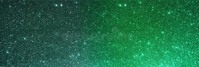Tło teksturowane zielonego glitera zdjęcie royalty free