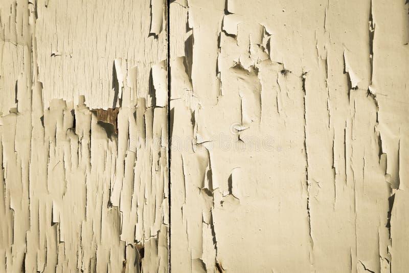 Tło tekstury bielu ściana z krakingową farbą zdjęcia stock