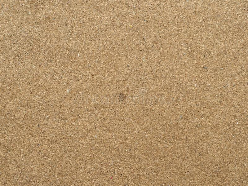 Tło tekstury kartonu w kolorze brązowym zdjęcia stock