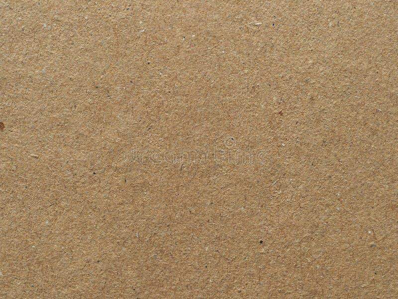 Tło tekstury kartonu w kolorze brązowym zdjęcie royalty free
