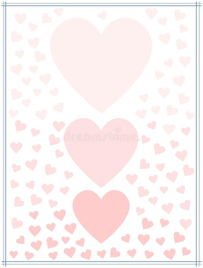 tło temat miłości royalty ilustracja
