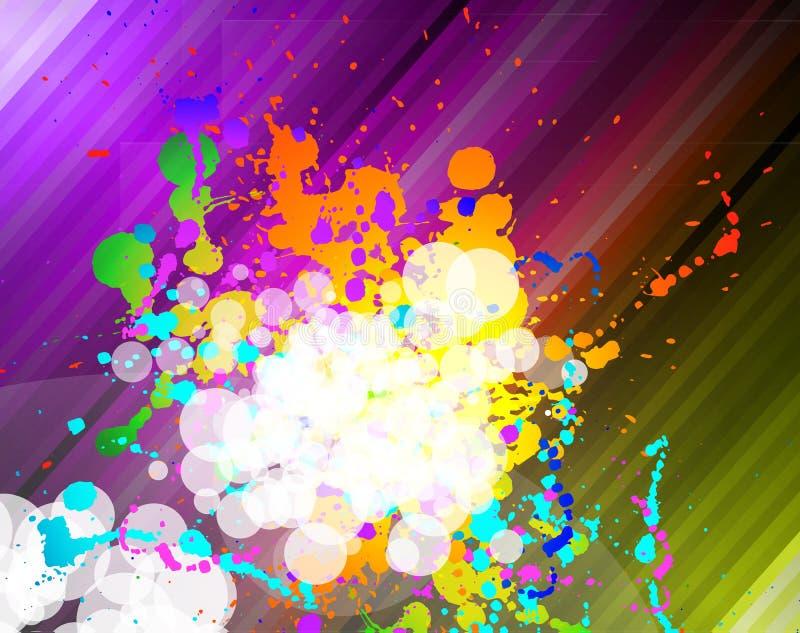 tło ulotki biznesowe kolorowe ilustracja wektor