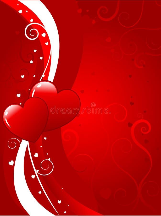 tło valentines royalty ilustracja