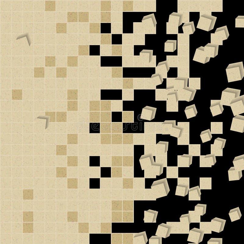 Tło w kalejdoskopu wzorze obraz stock