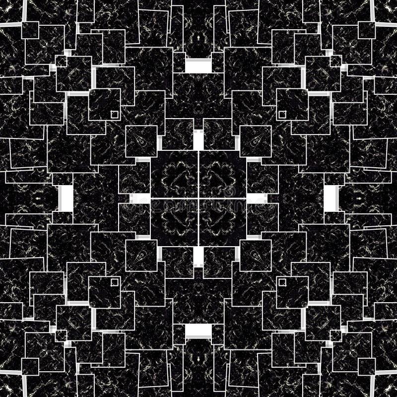 Tło w kalejdoskopu wzorze zdjęcie stock