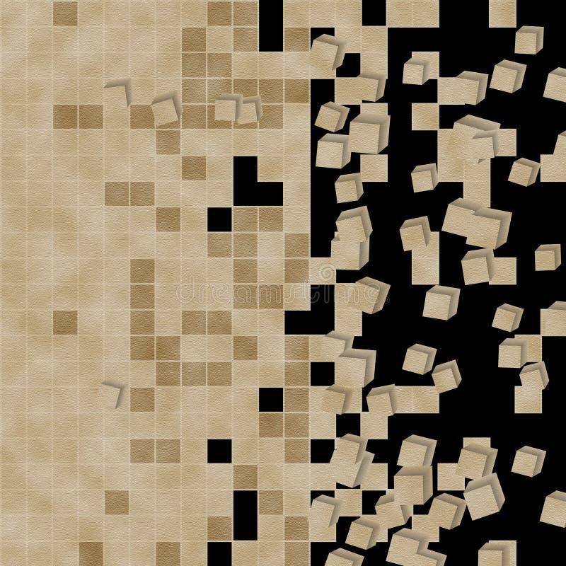 Tło w kalejdoskopu wzorze zdjęcia stock