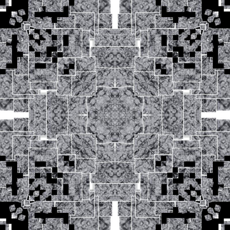 Tło w kalejdoskopu wzorze obrazy stock