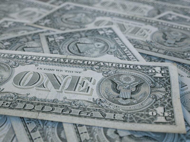 Tło waluty amerykańskiej Dolary Stanów Zjednoczonych Ameryki Tło dolara amerykańskiego obrazy stock