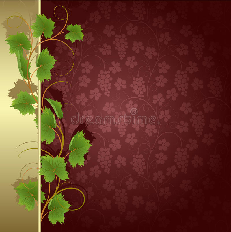 tło winograd royalty ilustracja