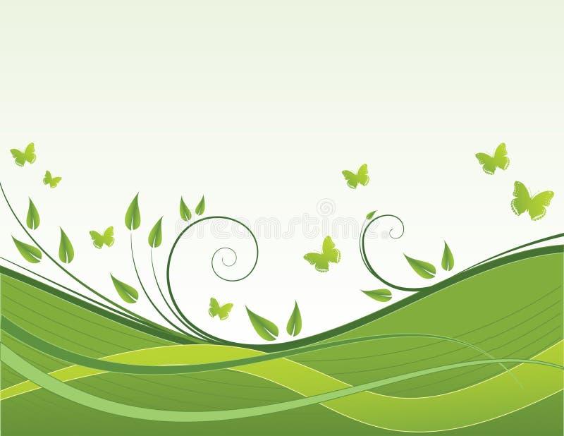 tło wiosna royalty ilustracja